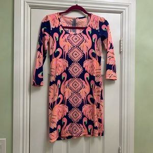 Flamingo Lilly Pulitzer dress